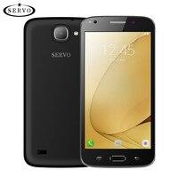 Telefone Original SERVO J7 5.5 polegada Android 6.0 os celular Spreadtrum7731C Quad Core 1.2 GHz Dual Sim 5.0MP GSM WCDMA móvel telefone