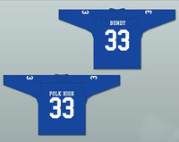 Al Bundy 33 Polk High School Football Jersey Married With Children Blue White All Stitched Name