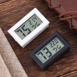 Мини цифровой ЖК-дисплей Крытый удобный Термометры измеритель влажности термометр-гигрометр датчика Новинка 2017