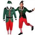 christmas elf adult costume funny christmas costumes for men funny halloween costumes for men party clothes carnival costume men