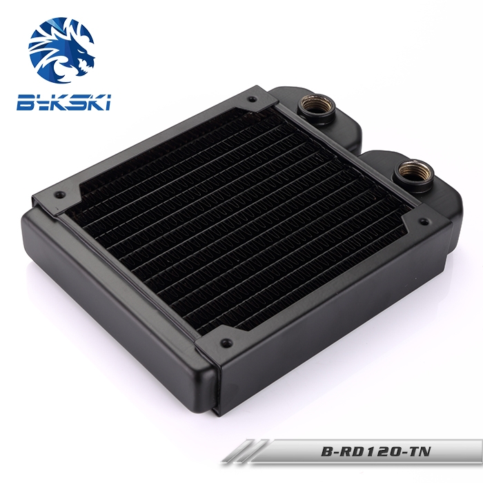 Bykski B-RD120-TN 120 120mm Copper Radiator Water Cooling nulibenna pоза красная м