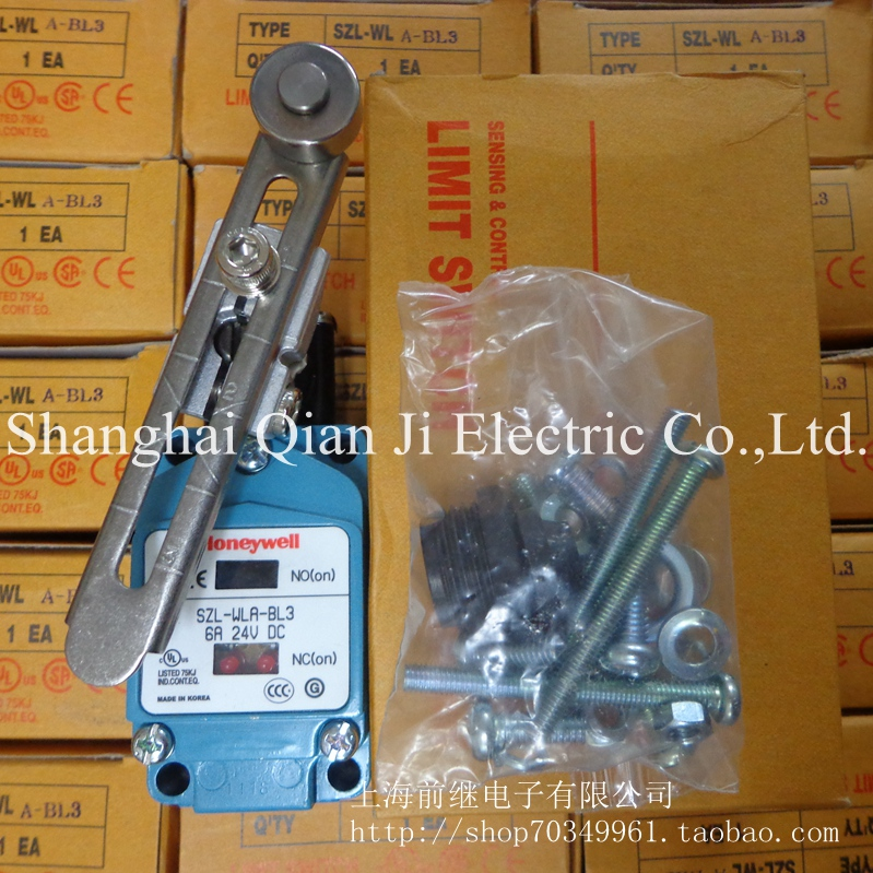 SZL-WLA-BL3 6A 24VDC limit switch dhl ems 5 sests 1pc honeywell limit switch szl wlc b szl wl c b szlwlcb new in box