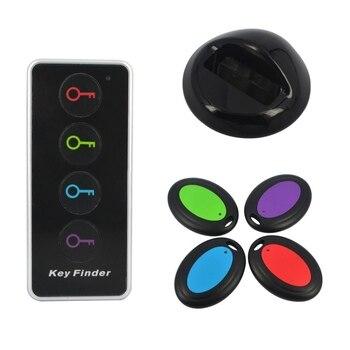 Tecla multifunción inalámbrico RF localizador artículo Tracker soporte Control remoto Pet Tracker carpeta Tracker