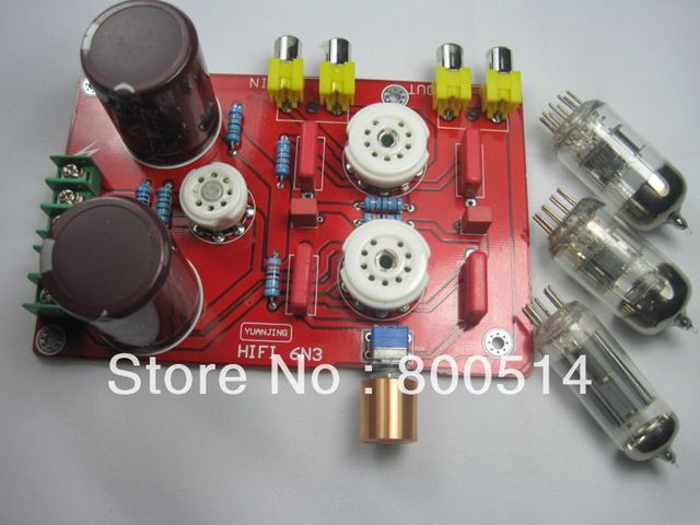 AMPLIFIER BOARD Buffer Tube 6N3 HIFI Audio Preamplifier Pre-amp --YJ85