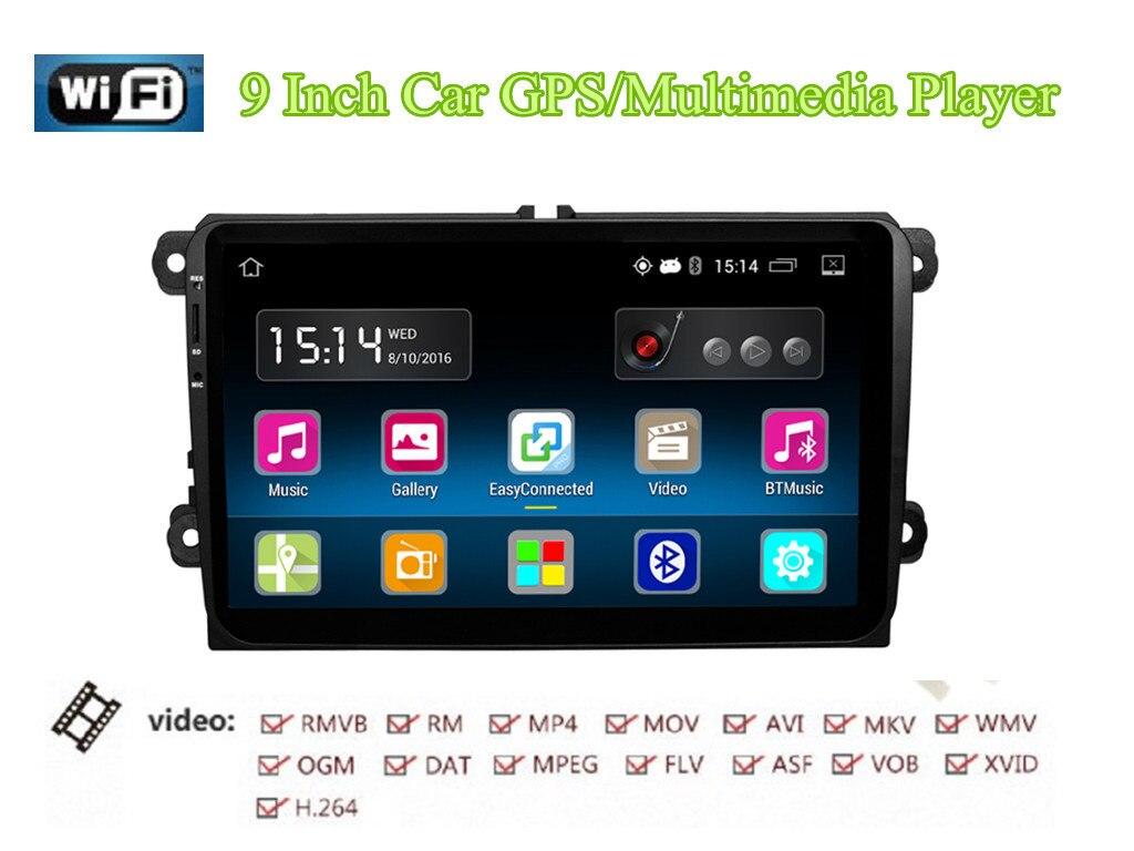 RM-VWTY91 Android 5.1 2 Din HD autoradio lecteur stéréo GPS 1G DDR3 + 16G NAND mémoire Flash pour VW Jetta T5 EOS Passat Golf MK6 MK5