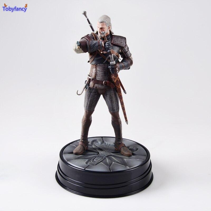 Tobyfancy Dark Horse Original The Witcher 3 - Wild Hunt: Geralt Figure PVC Action Figure the medieval dark horse