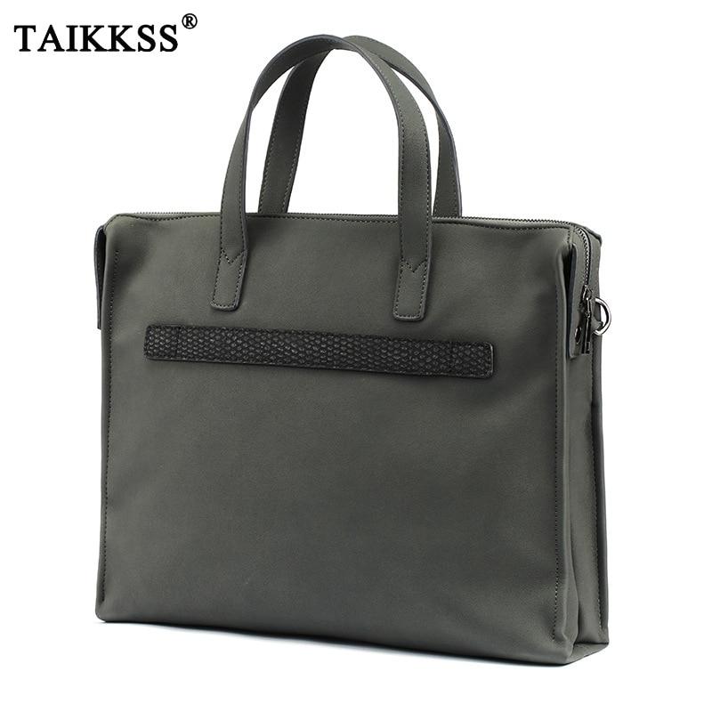 Marque homme mallette d'affaires sac haute qualité Pu cuir hommes porte-documents bureau travail sacs sacs à main décontractés Messenger sacs à bandoulière