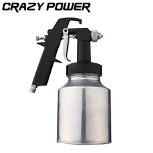CRAZY POWER 1000ML Spray Paint Gun High High-end Furniture Pneumatic Paint Spray Automizer Power Tools For Painting Cars