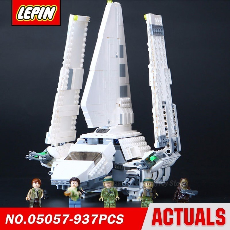 Lepin 05057 Imperial Shuttle Fighter 75094 Star Series Wars Model Building Block Brick Kits Assembling Compatible Gift lepin 22001 pirate ship imperial warships model building block briks toys gift 1717pcs compatible legoed 10210