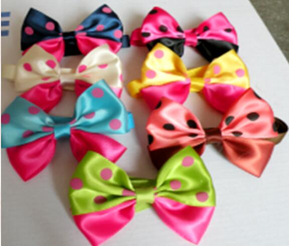 Simple Ribbon Bow Adorable Dog - 50pc-lot-2017-New-Pet-Dog-Dot-Pattern-Ribbon-Bow-Bowties-New-Arrival-Ties-Cute-Dog  Picture_855720  .jpg