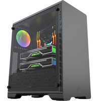 PHANTEKS MG(metallicgear) NEO 510 ATX computer case (RGB light control supports 280 water cooling)