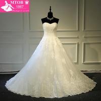 Vestidos De Noiva Com Foto Real Online Shop China Robe De Mariage Strapless Lace Vintage Wedding