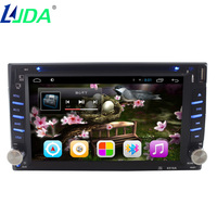 2Din 6 2Inch Universal Auto Radio Android 5 1 Car DVD Player For Nissan Toyota Ford