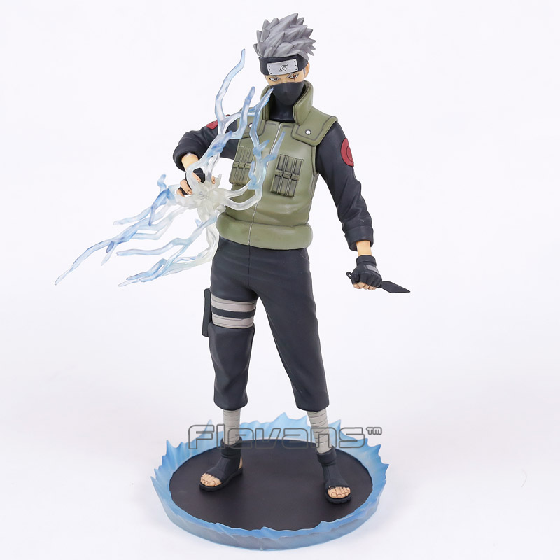 Naruto Hatake Kakashi Standard Ver. 1/6 Scale Statue PVC Action Figure Collectible Model Toy original box anime naruto action figures lightning blade hatake kakashi figure pvc model 12cm collection children baby kids toys