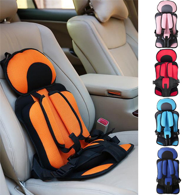 1PC 5Color Baby Car Seat Safety Kids Car Protect Baby Cushion Children Safety Seat Auto Booster Chair Comfortable Portable high quality baby car seat thicken cushion wrap types soft baby safety seat shockproof child kids auto seat easy install c01