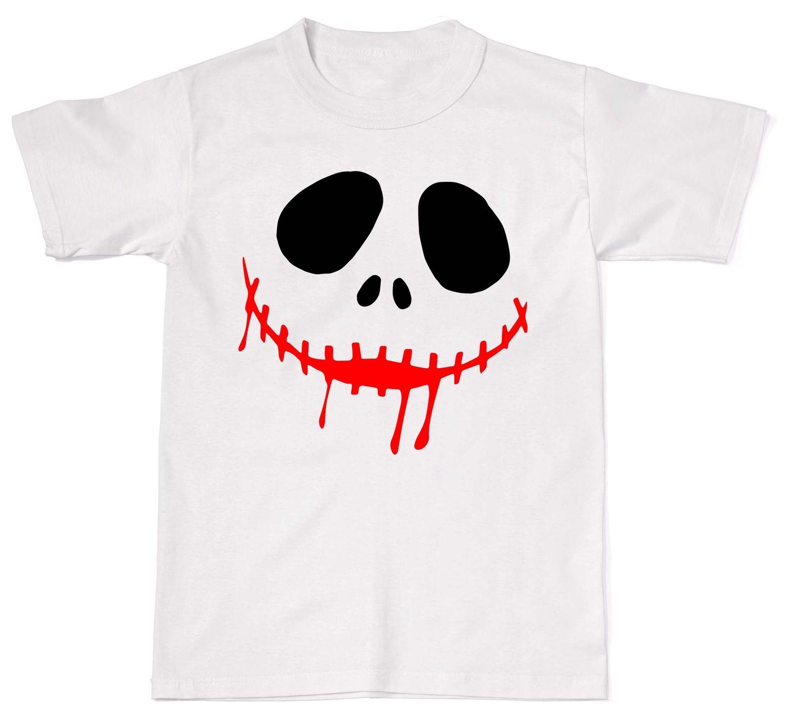Jack Halloween Nightmare Christmas Xmas Festive Unisex T-Shirt T Shirt Cotton ...