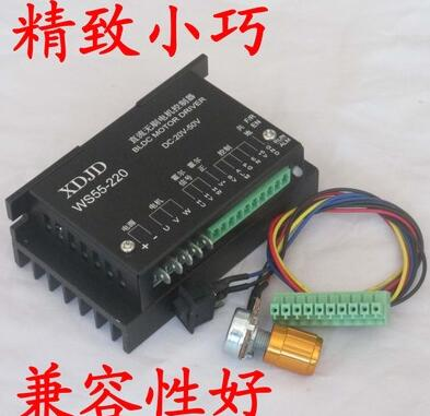 48 v500w special high speed brushless spindle drive MACH3 speed analog speed WS55 220