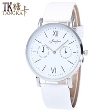 High quality new Geneva digital woman quartz watch Simple and generous without second hand dial luxury dress watch
