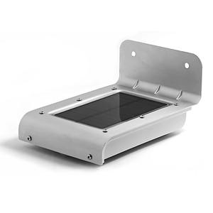 Image 3 - Led ソーラー電源センサーランプサウンド/motion 検出ガーデン防犯灯屋外防水ホワイトガーデンソーラーライト IP66