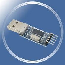 Pl2303 módulo usb-to-ttl atualizar nove placa de escova pl2303hx stc mcu download cabo escova linha