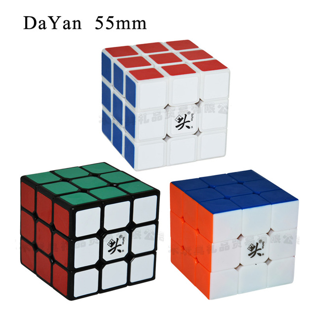 dayan zhanchi Three Layers 55mm Cube Puzzle Toy High-quality Magic Cube Ultra-Smooth Profissional Cubo Magico Classic Toys