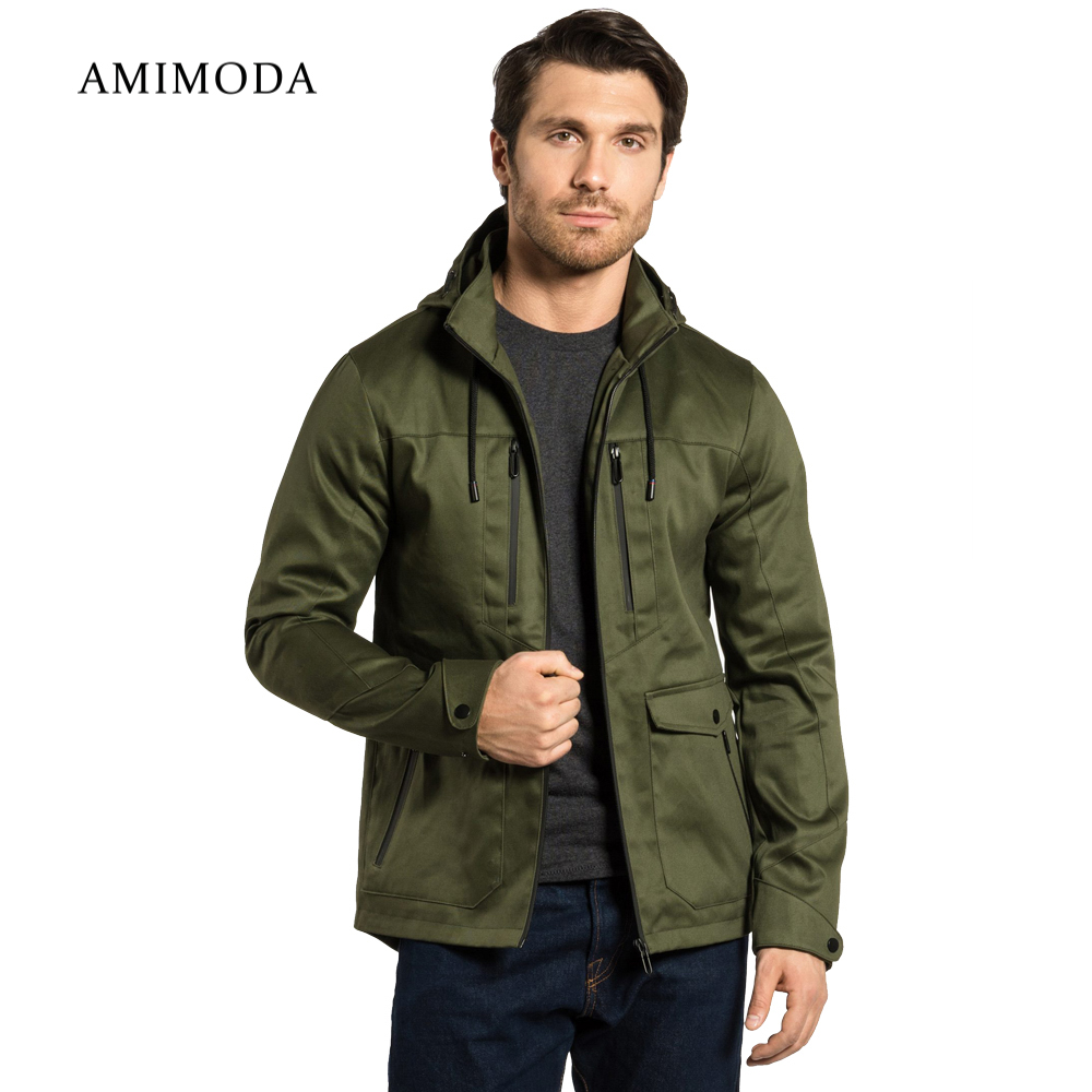 Jackets Amimoda 10009-04 Men\'s Clothing windbreakers for men  cloak jacket coat parkas hooded girls jackets