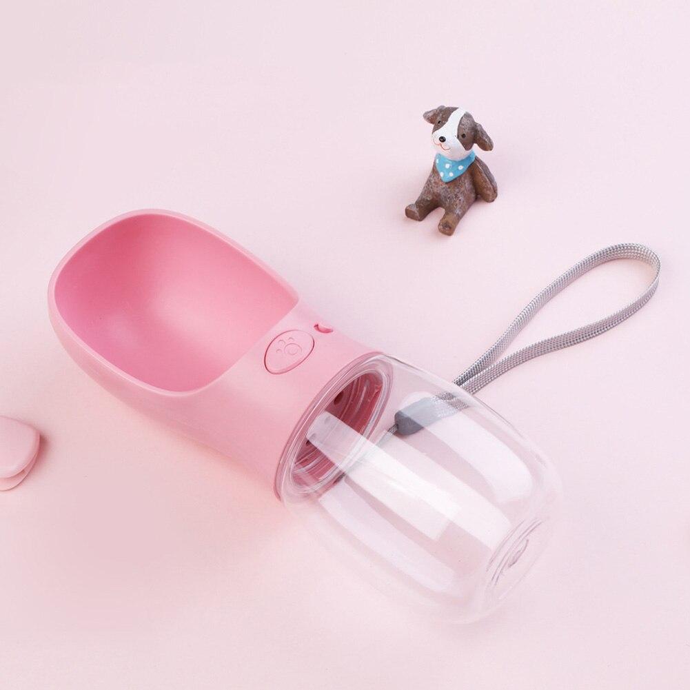 Portable Dog Water Bottle Pet Travel Water Bottle Cat: 350ml Portable Cat Dog Water Bottle Pet Drinking Dispenser