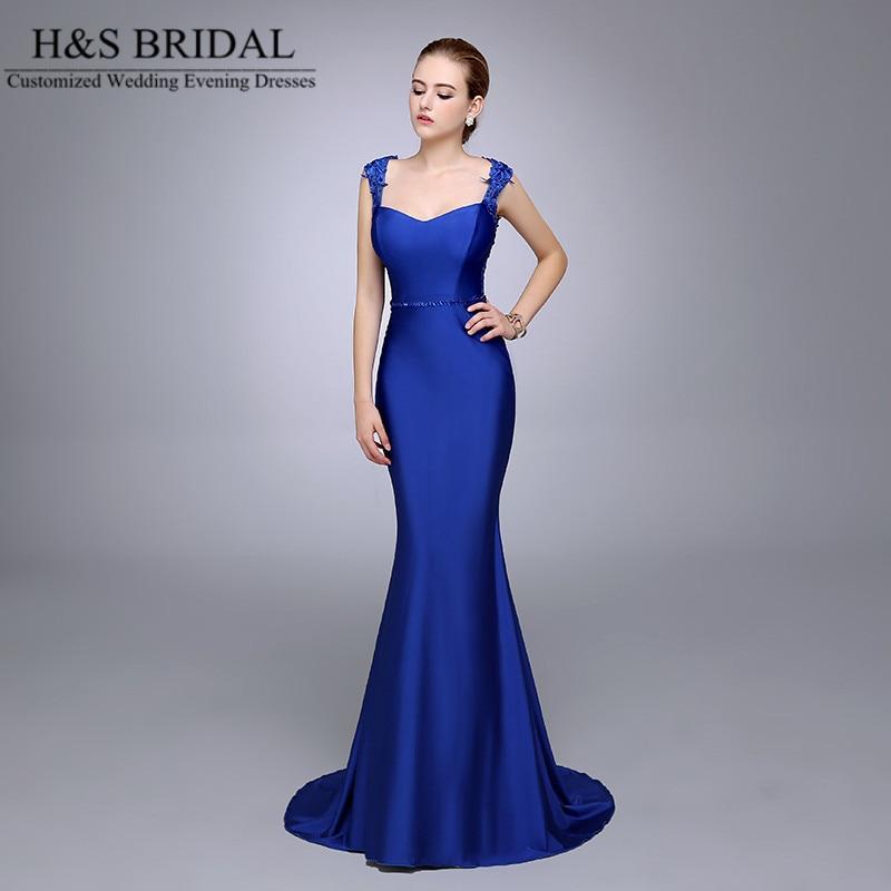 Online Get Cheap Royal Blue Lace Mermaid Evening Dress -Aliexpress ...