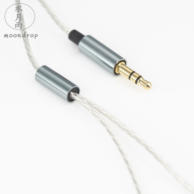 MoonDrop Nameless HIFI DJ Bass Earphone Metal Industrial Design 13.5mm Dynamic Driver Earbud free shipping 3