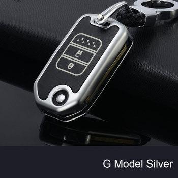 Uchwyt ze stopu cynku skórzany na klucze do Honda Accord City Civic Crv Element pasuje Hrv Odyssey Crider Jed Spirior breloczek do Honda tanie i dobre opinie icecare Ocynkowanej Stopu