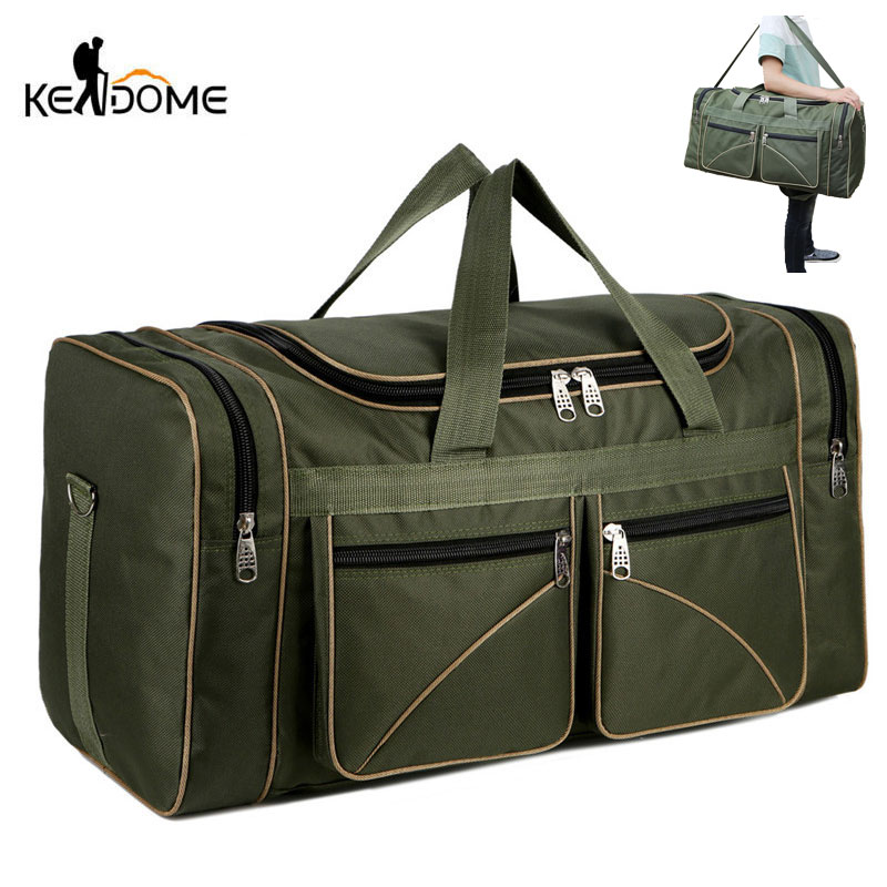 Nylon Luggage Gym Bags Outdoor Bag Large Traveling Tas For Women Men Travel Duffle Sac De Sport Handbags Trip Duffel 2019 XA19WD