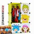 12 кубов простой мультфильм детский шкаф портативный гардероб стоящая шкаф организаторы
