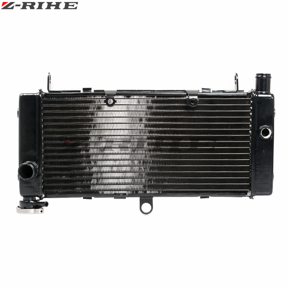 motorcycle Engines radiator cooler aluminum motorbike radiator black color For Honda CB600 CB600F Hornet600 1998 1999 2000 2001