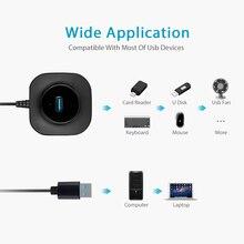 Multi USB Hub 3.0 Micro USB Splitter 4 USB Ports High Speed Hub Mini adapter All In One Portable Hub For PC Computer Accessories
