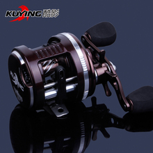 KUYING Tornado Left Right Hand Optional Lure Bait Casting Fishing Reel 5.3:1 Drum Wheel Saltwater Fish Line Coil Free Shipping