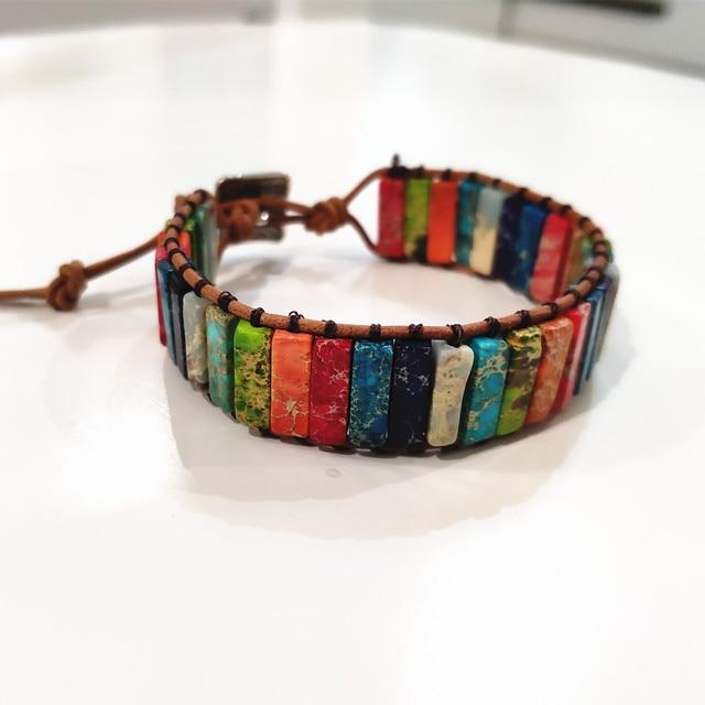 Unisex Stone Bracelet - 29 Beads  1
