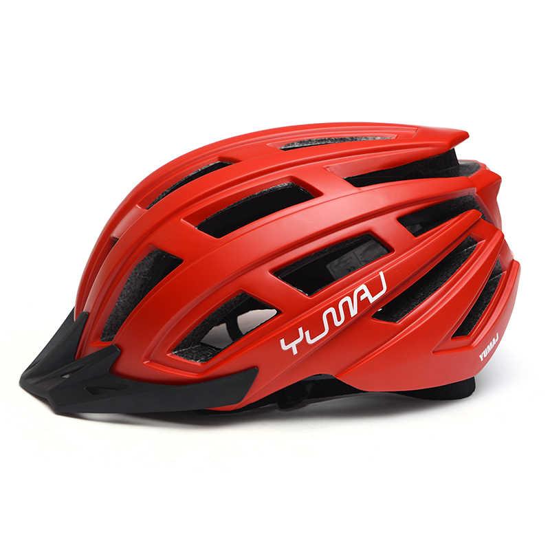 Мужской велосипедный шлем, внедорожный шлем для горного велосипеда BMX TRAIL XC Cycle equipal Men t
