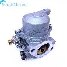 Карбюратор в сборе 67D-14301-01 для Yamaha 4-х тактный 4hp 5hp F4A F4M Подвесные лодочные моторы