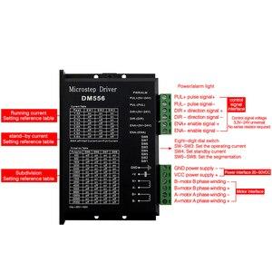 Image 4 - Digital Stepper motor driver dm556 2 phase 5.6A for 57 86 stepper motor NEMA23 NEMA34 Stepper Motor Controller