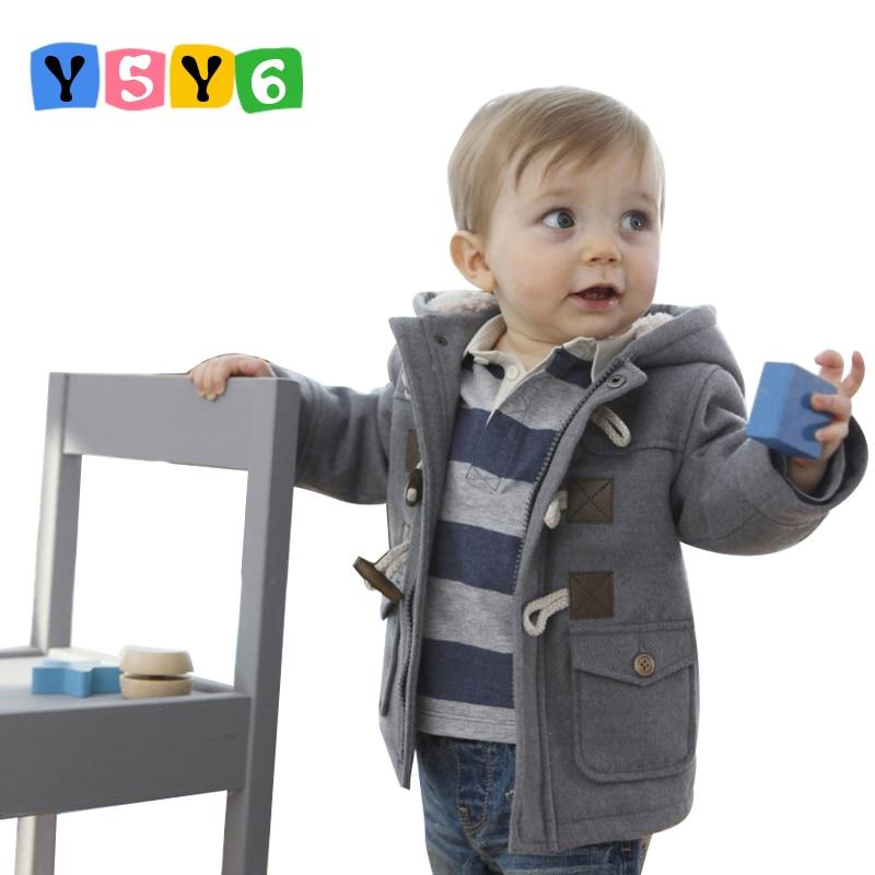 Retail 2018 baby jongens jas jas kinderen Winter Lente Kinderen Bovenkleding Kleding kind dikke overjas kind uitloper jongensjassen
