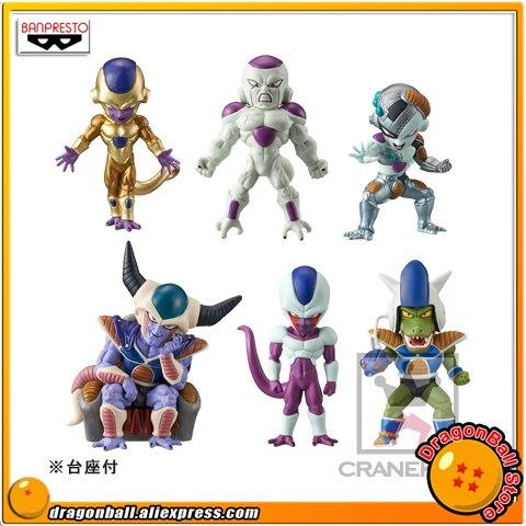 Японии аниме Dragon Ball супер Оригинал BANPRESTO мира Коллекционная Фигурка WCF фигура freeza специальные Vol.2-полный набор из 6 шт.