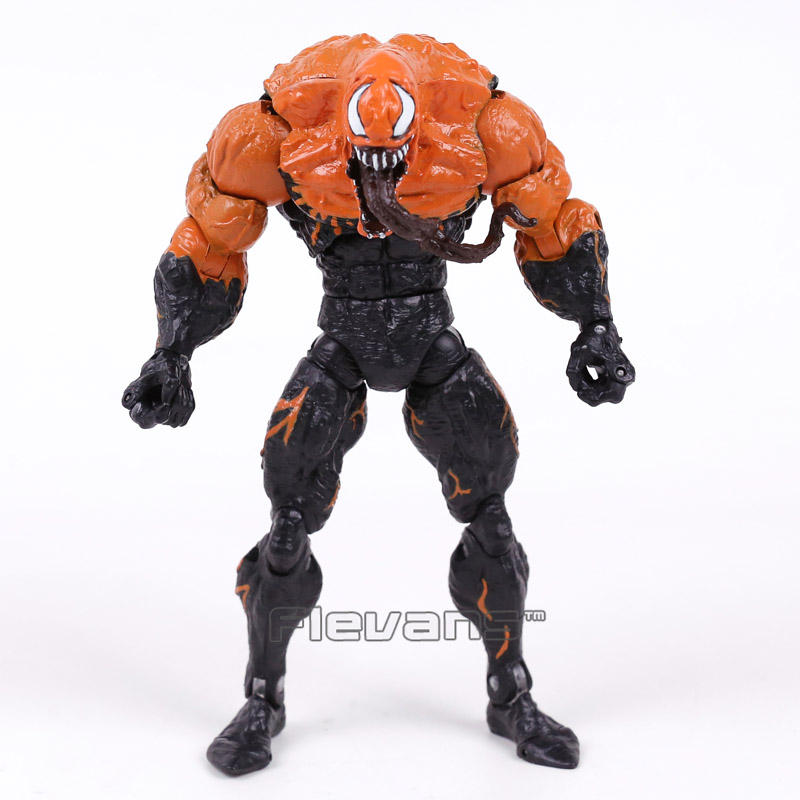 Genuine Original Venom Spider Man PVC Action Figure Collectible Model Toy 7inch 18cm 2 Styles neca planet of the apes gorilla soldier pvc action figure collectible toy 8 20cm