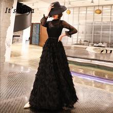 Длинное вечернее платье с кисточками it's yiiya  Специальное