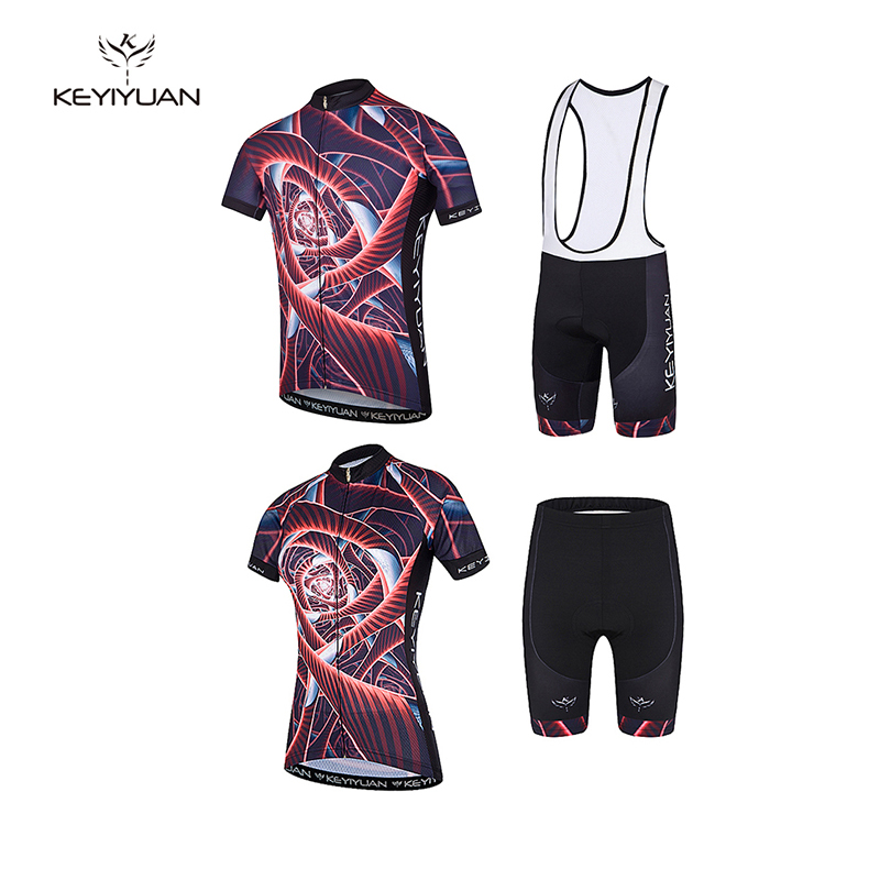 keyiyuan 2018 winter breathable mountain men and women couple riding clothes quick drying short sleeved riding