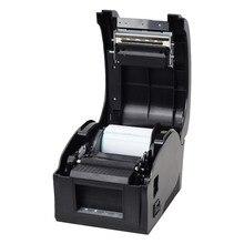 Livraison gratuite usb 20-82mm USB port Thermique Qr code étiquette imprimante Thermique imprimante code à barres imprimante ticket en gros POS imprimante