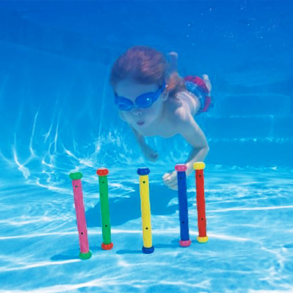 Intex Underwater Swimming font b Diving b font Swimming Pool Toy Play Sticks 55504