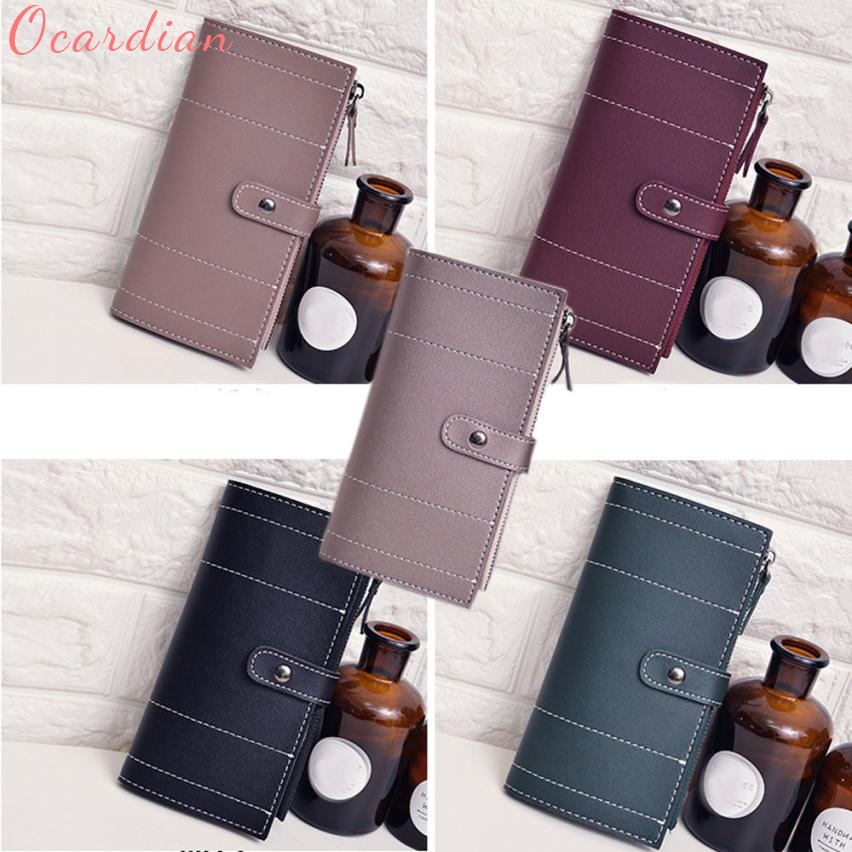 Ocardian Bags for Women 2017 Women Daily Use Clutches Quality Clutch Purse Fashion Wallet Nov8