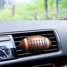 Vehicle air conditioning vent, perfume clip, rugby aromatherapy, solid fragrance bar, creative gift decoration.