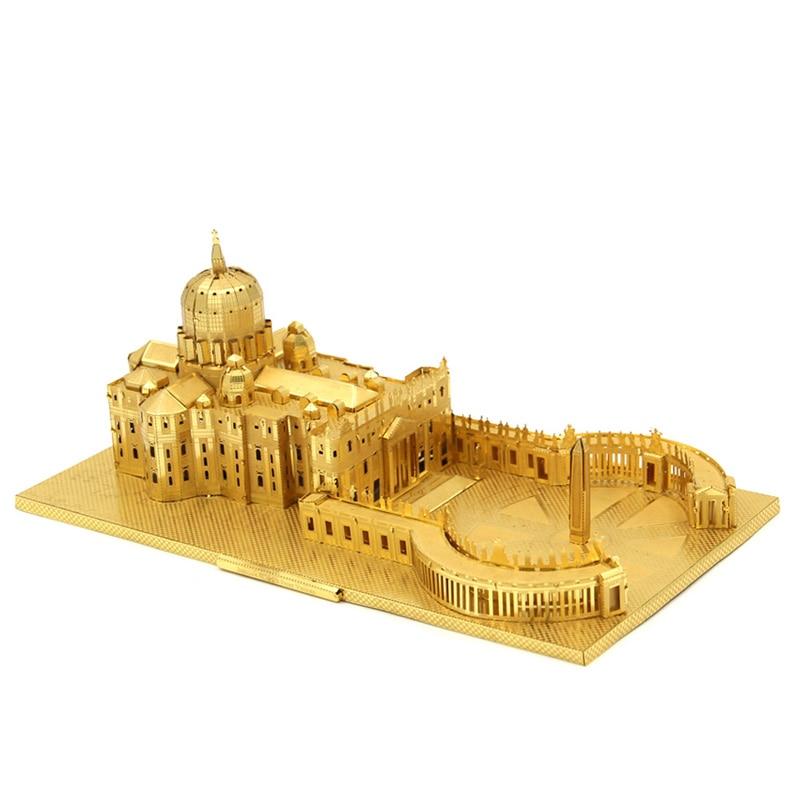 3D Metal Puzzle St. Peter's Basilica Architecturals
