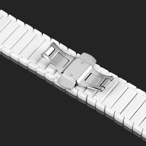 Image 5 - Dla huawei GT zegarek ceramiczny pasek SIKAI 22mm pasek dla honor magia ticwatch pro